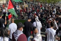 VIDEO: Berlin rallies condemn Zionists' atrocities
