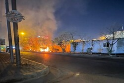 Rioters set fire to wall of Iran consulate in Karbala
