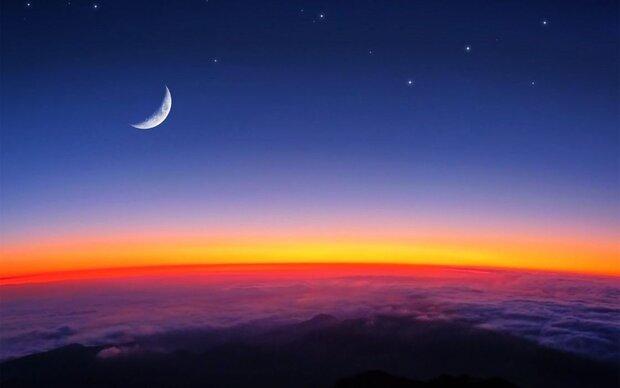 هلال صبحگاهی ماه رمضان را فردا رصد کنید/ ماه و عطارد در یک قاب