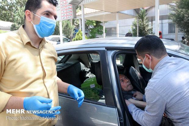 راه اندازی اولین مرکز واکسیناسیون خودوریی در پایتخت