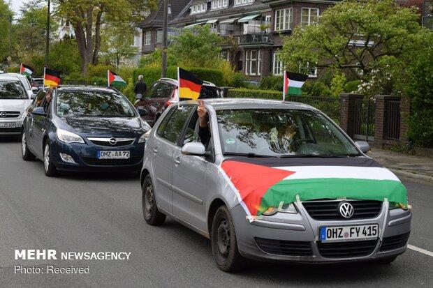 """Almanya'da """"Dünya Kudüs Günü"""" anıldı"""