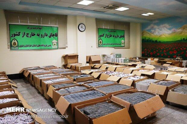 کشف هشت تن داروی قاچاق در فرودگاه مشهد