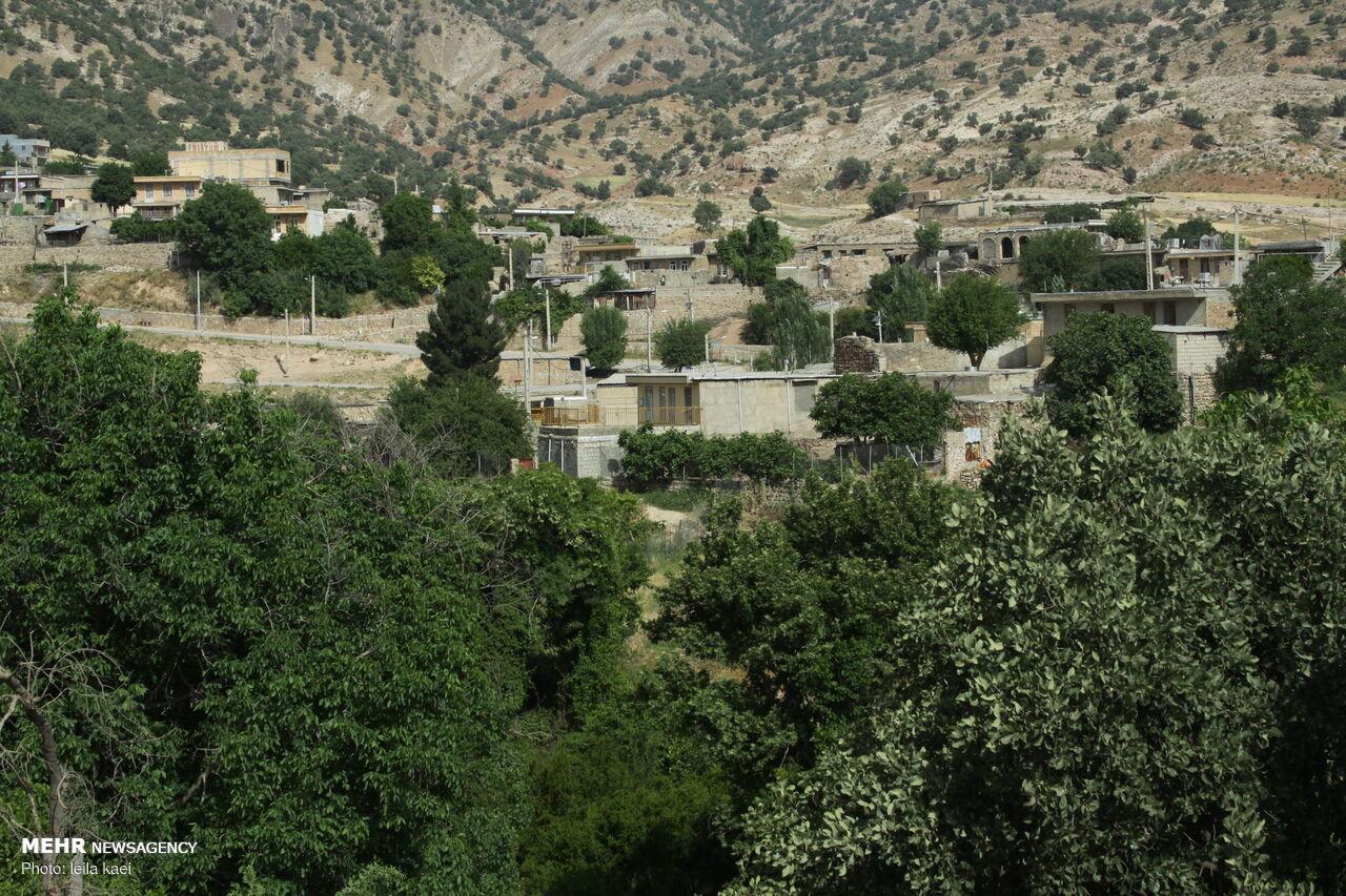 İran'da turist çeken Kolm-e köyü
