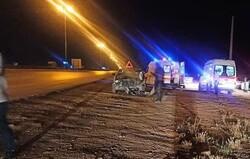 تصادف در اتوبان کرج - قزوین ۵ مصدوم برجاگذاشت