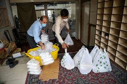 شہید قاسم سلیمانی اور2000 شہیدوں کی نیابت میں محروم طبقات میں سادہ افطار کی تقسیم