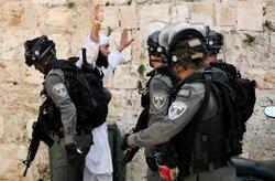 رویارویی فلسطینی ها و نظامیان رژیم صهیونیستی در کرانه باختری