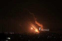 تكبيرات العيد على طريقة الأبطال/ وابل من الصواريخ تطلقها المقاومة