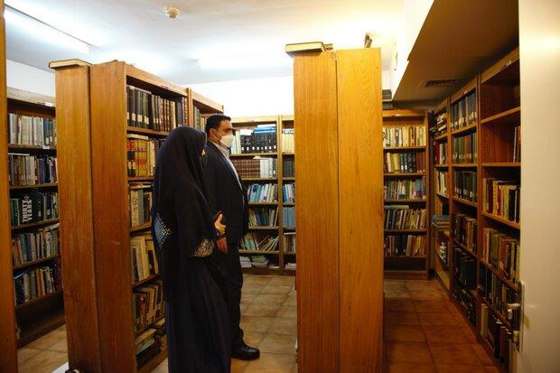 بازدید دهقانکار از پروژه موزه و مرکز اسناد انتشارات علمی و فرهنگی