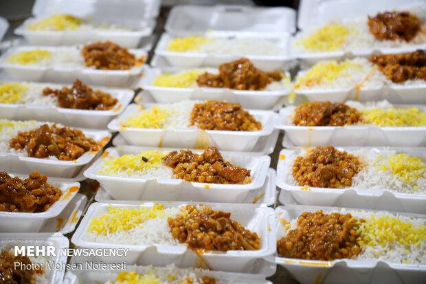 افطاری ساده به نیابت از سردار دلها
