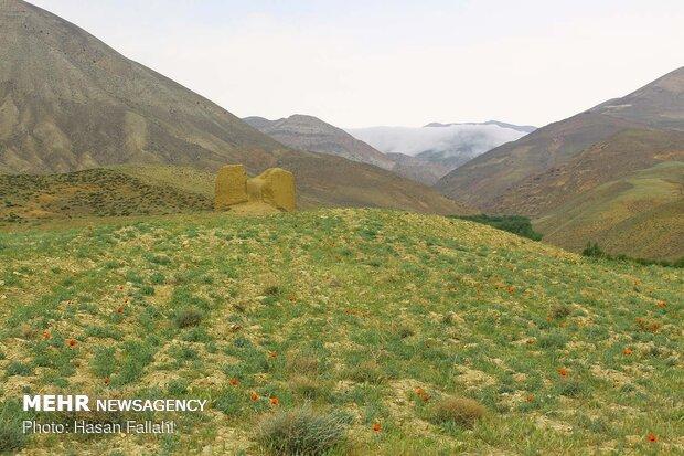 'Gilavan' brick castle, a mysterious monument in Khalkhal