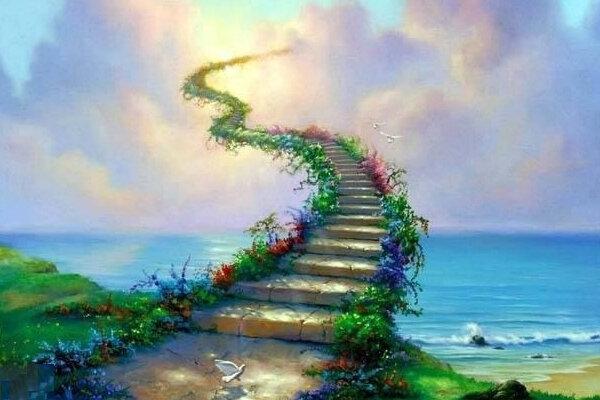 صراط که انسان با آن به بهشت می رسد در زندگی دنیوی شروع می شود