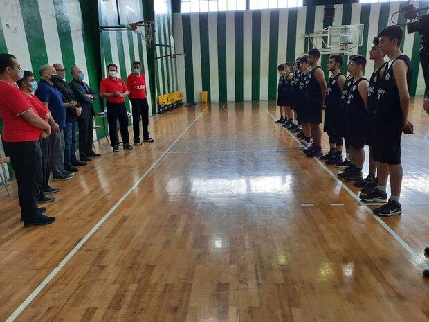 اردوی آماده سازی تیم ملی بسکتبال جوانان برگزار شد