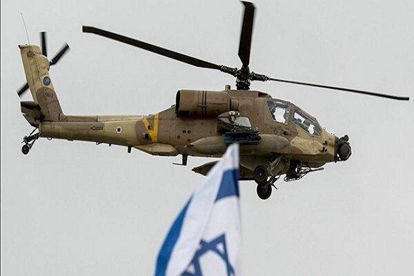 Israeli chopper targets a spot in southwestern Syria