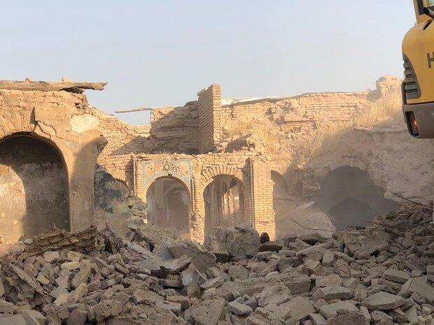 تخریب بنای تاریخی حاج باشی اراک