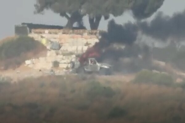 بالفيديو سرايا القدس تستهدف جيب عسكري قيادي للكيان الغاصب