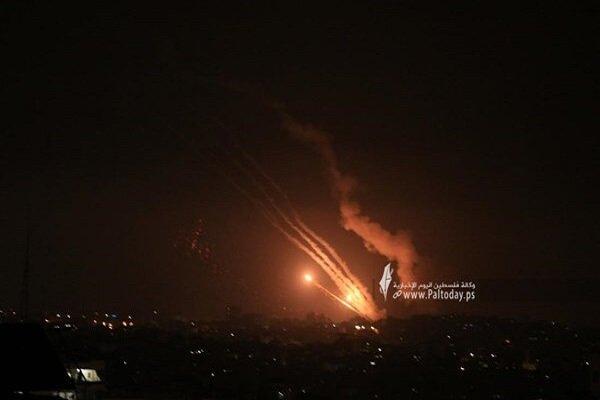 سرايا القدس تمطر تل ابيب بصواريخ نوعية