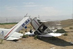 2 killed in plane crash in central Iran