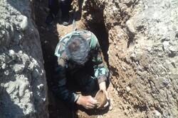 کشف گور تاریخی سه هزار ساله در منطقه «چیتاب» بویراحمد