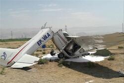 2 killed in plane crash in central Iran