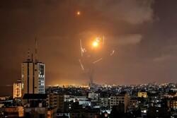 Siyonist İsrail'in Gazze saldırısından görüntüler