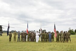 Japan, US, France, Australia launch joint military drill