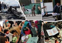 برپایی یادمان قربانیان مکتب سیدالشهدای افغانستان درگذرسعدی اصفهان