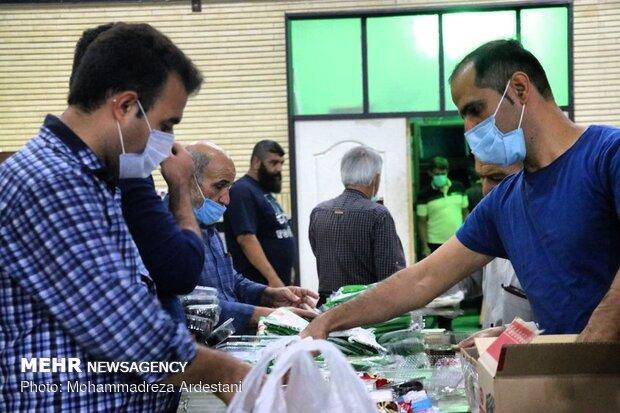 توزیع سه هزار بسته های افطاری ساده در ورامین