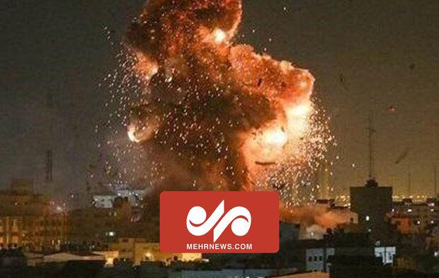 VIDEO: Brutal attack of Zionist regime on Gaza Strip