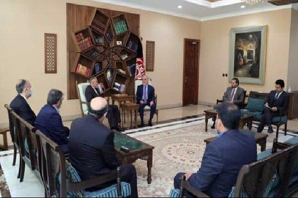 İranlı yetkili Kabil'de Abdullah Abdullah ile görüştü