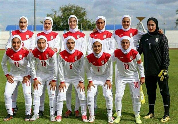 Iranian women's football team to play Belarus