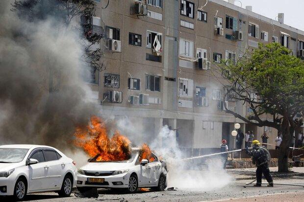 صواريخ المقاومة تسبب اضرار فادحة للكيان الصهيوني