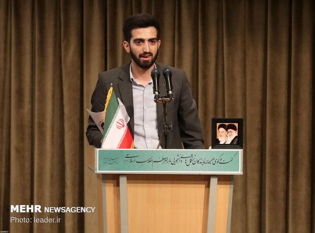ارتباط تصویری با نمایندگان تشکلهای دانشجویی با رهبر معظم انقلاب