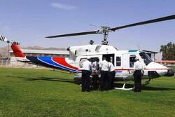 سرنوشت عجیب بالگرد اعزامی به ایذه/ ۲ بیمار به اهواز اعزام شدند