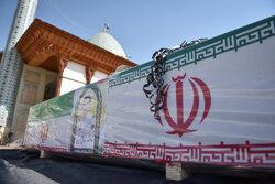 پیکر مطهر شهید «صادق کریمی» در شیراز تشییع شد