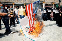 İran'da Filistin ve Afganistan'a destek gösterisi