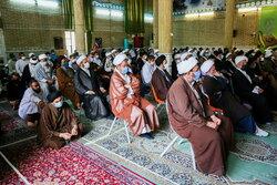 کابل میں سید الشہداء مدرسہ پر دہشت گردانہ حملے کے خلاف افغانی طلاب کا اجتماع