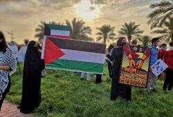 تجمع همدلی با قدس شریف در کویت