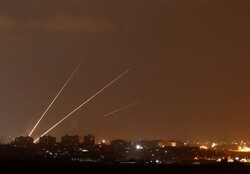 تصاویر حملات راکتی روز سهشنبه به تلآویو