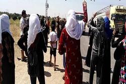 تظاهرات سوری ها علیه شبه نظامیان وابسته به آمریکا