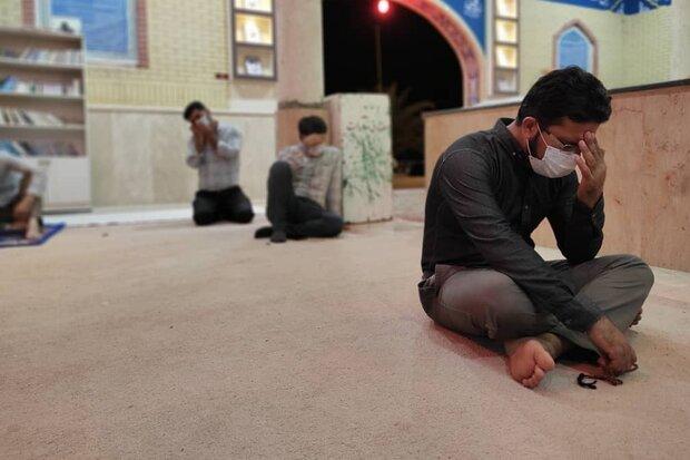 وداع با ماه مبارک رمضان در لامرد