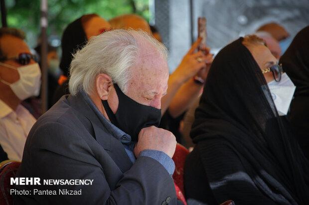 Funeral ceremony of great Iranian musician Abdolvahab Shahidi