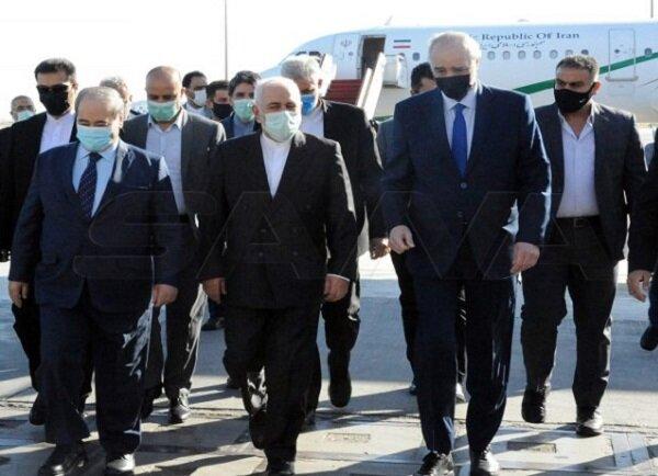 Zarif: Suriyeli yetkililerle Filistin'deki son gelişmeleri ele alacağız