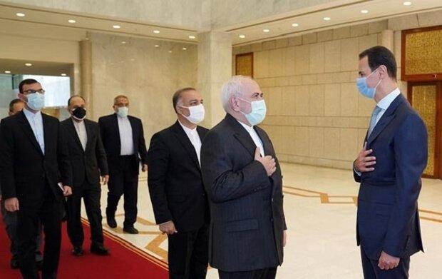 Zarif, Beşar Esad ile Kudüs'ü görüştü