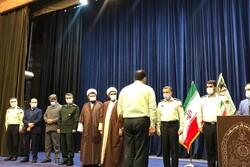 فرمانده جدید انتظامی شهرستان فومن معارفه شد