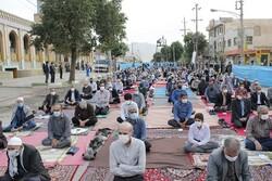 نماز عید سعید فطر در کرمانشاه برگزار شد