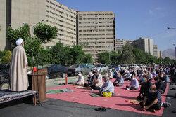 نماز عید سعید فطر در همه جای پایتخت با آرامش برگزار شد