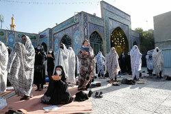 نماز عید سعید فطر در امامزاده معصوم (ع)