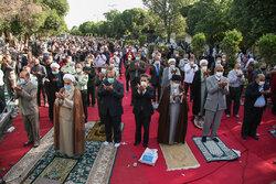 اقامه نماز عید سعید فطر در قزوین