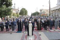 اقامه نماز عید سعید فطر در دروازه نجف