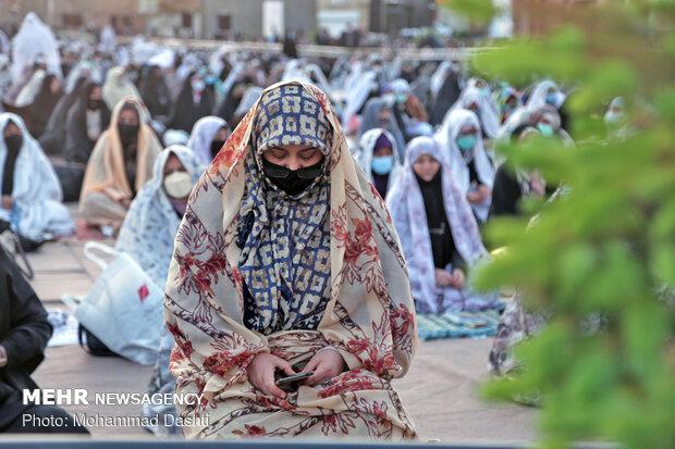 2021 Eid al-Fitr prayers in Iran's provinces (1)